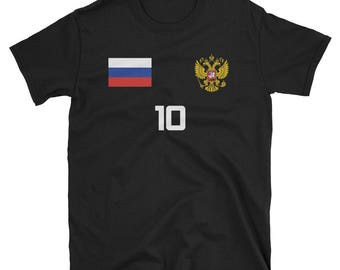 Russia World Cup Soccer Shirt