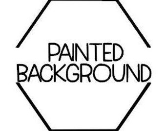 Painted Wood Background Add-on