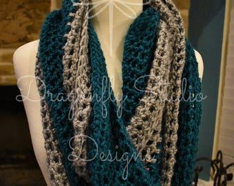 Handmade Crochet Infinity Scarves