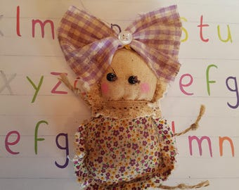 "Grungy ""Iris"" - A Rag Doll made with love"