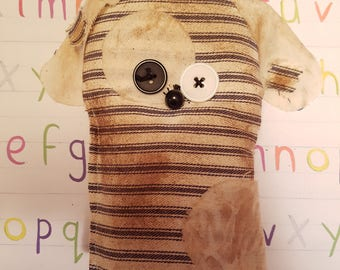 """Grungy Pet Pal """"Spot"""" - A Rag Doll made with love"""