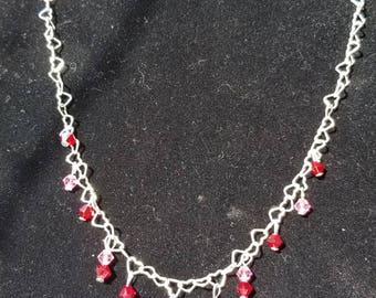 Swarovski Hearts Passion Mini Necklace