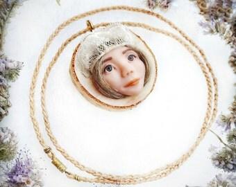 Birch pendant