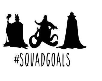 Villains squad goals svg file