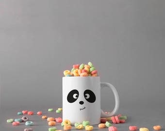 Panda Mug with pun...duh!