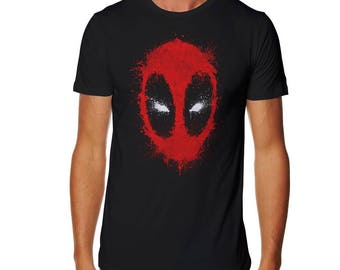 Ink Merc T-shirt - Deadpool shirt -Merc tshirt - Wade Wilson shirt - Superhero shirt - Merc with a mouth shirt - Mercenary shirt - Dead pool