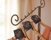 Sequin Gold Hangers