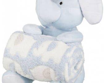 Luxury Personalised baby blanket