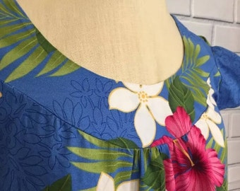 Vintage TY Hawaiian MuuMuu Dress