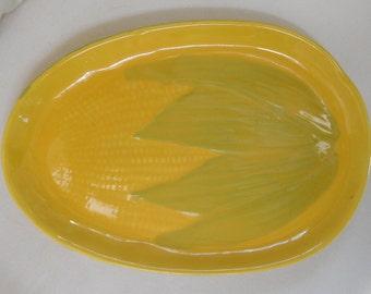 Vintage Ear of Corn Platter