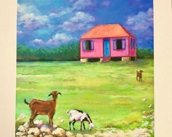 Little Pink West Indies House