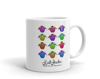 This Is Your Brain on Knitting KnitHacker Mug