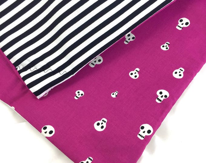 Featured listing image: Halloween Skulls Organic Catnip Mat By For Mew, Cat Toy, Refillable, Washable, Cat Bed, Cat Furniture, Gift For Cat Lovers