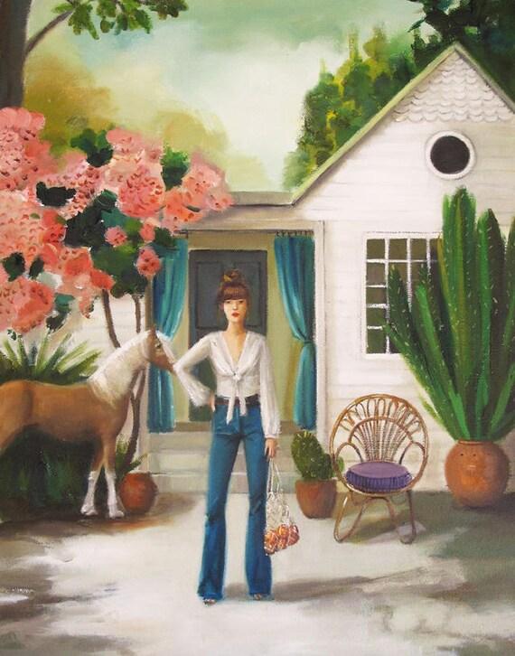 Pony. Art Print