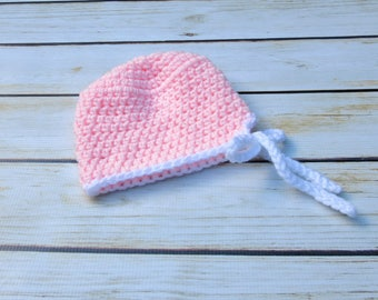 Newborn Girl Scrub Hat, Girl Baby Hat, Baby Doctor Scrub Hat, Baby Costume, Baby Girl Halloween Hat, Nurse Scrub Hat, Infant Girl Pink Prop