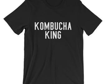 Kombucha King Shirt Kombucha Shirt Kombucha King Tee Kombucha Lover Kombucha T Shirt Kombucha King TShirt Kombucha T-Shirt Brew Kombucha