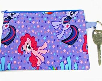 My Little Pony, wristlet wallet, smartphone wristlet, wristlet for iphone, iphone wristlet case, cellphone wallet, wristlet keychain