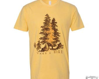 Mens TAKE A HIKE T-Shirt s m l xl xxl (+ Color Options)