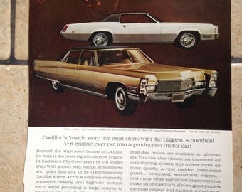 1967 Cadillac and Canadian Pacific Airlines Advertisement