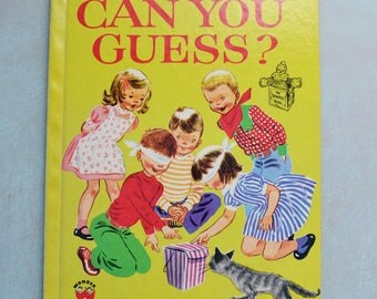 Vintage 1975 Can You Guess? Romper Room Wonder Book