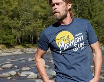 Alaska - Land of the Midnight Sun | Adult T-Shirt