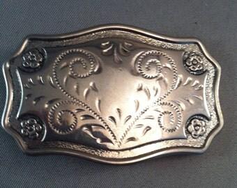 Vintage Belt Buckles, Small Ladies Belt Buckle, Mens Belt Buckles, Fancy Belt Buckles, Etched Design Buckles, Small Belt Buckles, Buckles