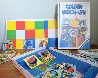 Ravensburger Game, Colour Match-ups Learning Game 1993