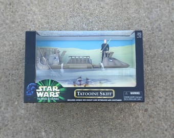 Star Wars Luke Skywalker, Tatooine Skiff Toy, Star Wars Gift, Star Wars Vehicle, The Last Jedi, 90s Action Figure, Star Wars Toy