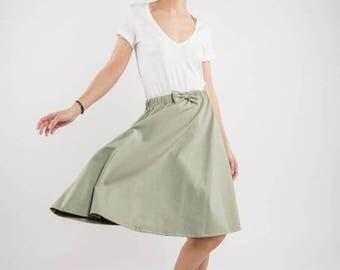 SALE - Summer skirt | Party skirt | Mint skirt | LeMuse summer skirt