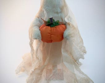 Primitive Ghost Decorations | Halloween Decorations | Ghost Decor | Farmhouse Halloween  | Halloween home decor | Primitive Halloween