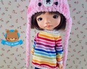 Bear hat pink and mint, Irrealdoll, hat, Enyo, Ino, Erin, Engendrito, kawaii, Mitilene