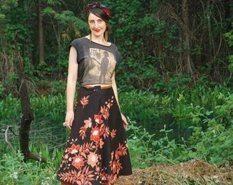 FREE SIZE... Boho Cotton Wrap Skirt... Indonesian or Indian Style Maxi Skirt... Great Colors