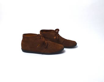 Brown Suede Ankle Boots by KEDS, Women's Size 10 M
