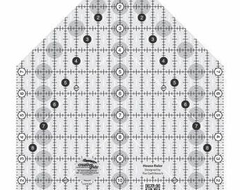 Quilt Ruler, Creative Grids, House Rler, Acrylic Ruler, Creative Grids Ruler, Barn Quilts, Susan Knapp, Mary Jane Mattingly, CGRQB1