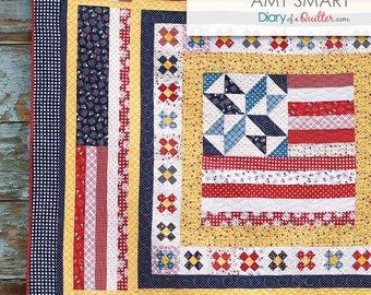 """QUILTING FUN:  """"Land That I Love"""" - Amy Smart"""