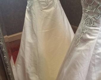 Celtic wedding dress | Etsy