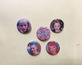 Gwen Steffani Pin Set Pinback Button Pin Badge x5