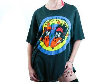 Vintage BLACK CROWES Shirt 1992 Band Tee Vintage Concert Shirt The Rolling Stones shirt Bohemian Hippie Rocker Tee Tour shirt XL