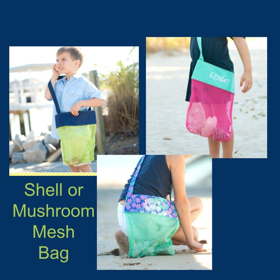 Shell or Mushroom Tote in 3 Colors!