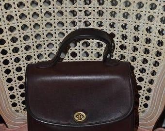 On Sale Coach~Coach Bag~Coach Manor Bag ~Brown Coach Bag