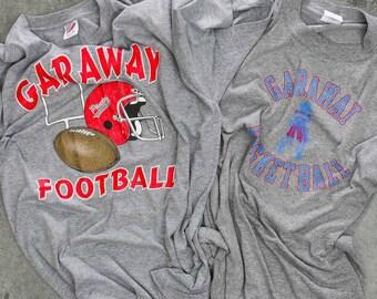 Garaway Pirates T-Shirts Short Sleeve Football Long Sleeve Basketball Sugarcreek Ohio High School Vintage T Shirts XXL 7W
