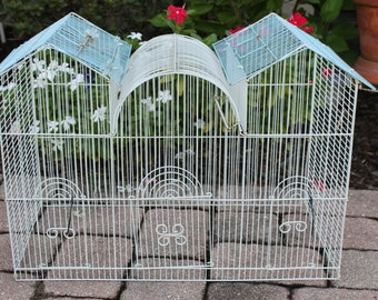 Vintage Bird Cage Top Great for Lighting Project