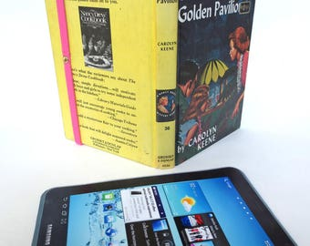 Hawaiian-Themed eReader Case Made from Nancy Drew Book, Fits Kindle Fire, Paperwhite, HD6, Galaxy Tab, Nook