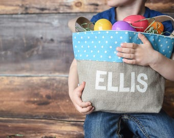 Personalized Boys Easter Basket