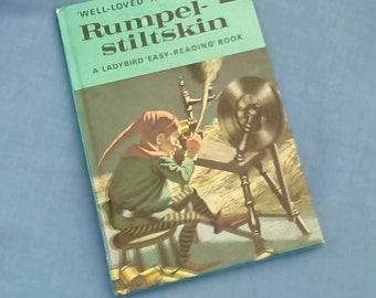 Rumpelstiltskin - Vintage Ladybird Book Series 606D Well- loved Tales - 40p - Late 70s Early 80s Edition - Matt Covers