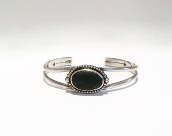Bracelets for Women - River Rock Bracelet - River Rock Jewelry - Unique Jewelry - Hippy Bracelet - Boho Bracelet  - Handmade Silver Cuff