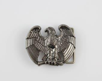 Vintage AVON Eagle Belt Buckle - American Patriotic Belt Buckle - 1970's Fashion Statement