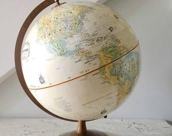 Vintage Globe Globemaster Tan