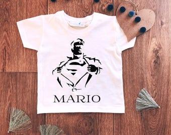 Custom Superman Shirt,Superhero Shirt,Superman Shirt,Birthday Gift,Superhero Party,Superhero Birthday,Superman Gift,Superhero Custom Shirt