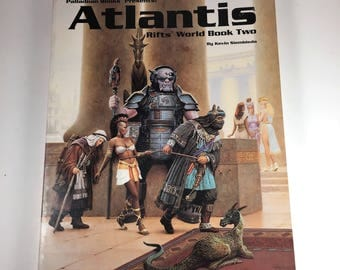 Rifts World Book Two: Atlantis, Nineties RPG (Role Playing Game)